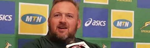 Springbok coach Matt Proudfoot ahead of the Rugby Championships