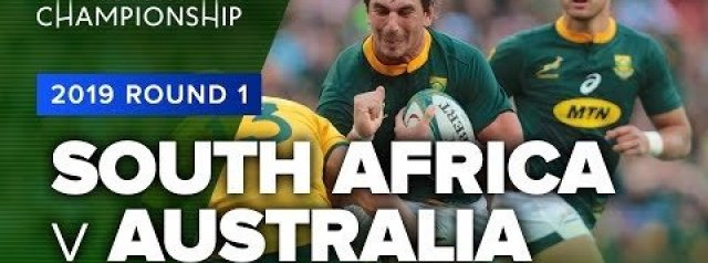 Rugby Championship Highlights: South Africa v Australia