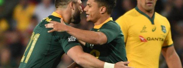 Springboks name squad to travel to New Zealand
