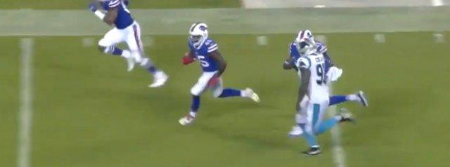 Watch: Christian Wade's stellar run for Buffalo Bills