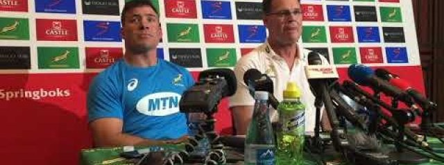 Springboks press conference after their win over Argentina