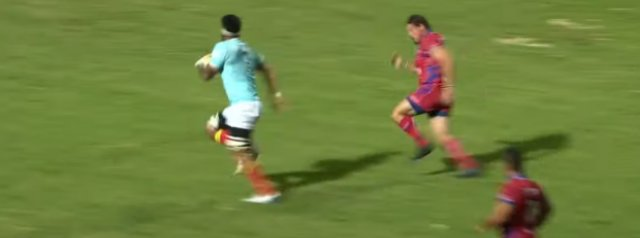Perpignan score a sensational 90 metre try in season opener