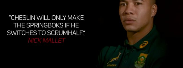 Watch: Cheslin Kolbe on his test call up and reacts to old footage and stories