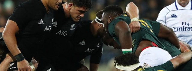 Rugby World Cup 2019: New Zealand v South Africa