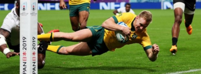 Australia survive Fijian scare in Rugby World Cup opener