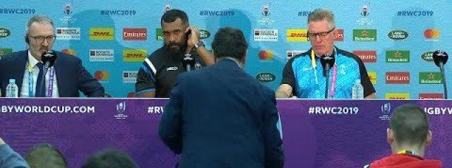 Fiji post-match press conference   Australia v Fiji