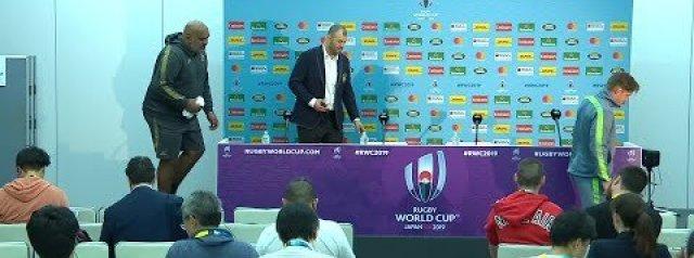 Australia post-match press conference   Australia v Fiji
