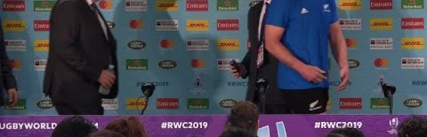 New Zealand post-match press conference | New Zealand v South Af