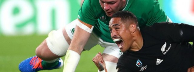 Ireland crash out in the quarters as New Zealand march on