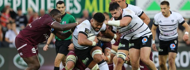 Diaby red proves costly as Bordeaux beaten by Brive