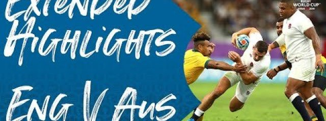 Extended Highlights: England v Australia