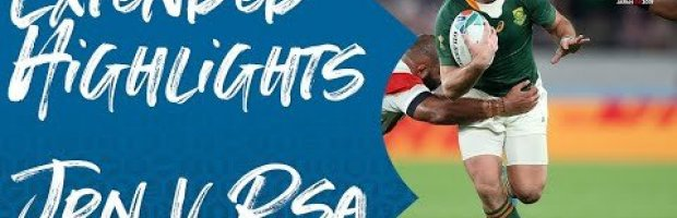 Extended Highlights: Japan vs South Africa - Rugby World Cup 201