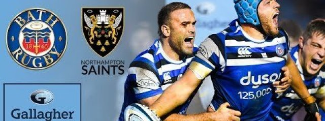 Premiership Highlights: Bath v Northampton