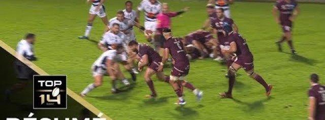 Top 14 Highlights: Bordeaux Bègles  v Agen