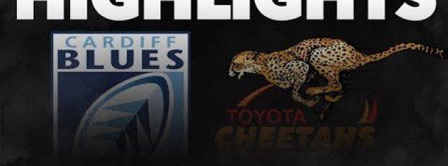 PRO14 Round 6: Cardiff Blues v  Cheetahs