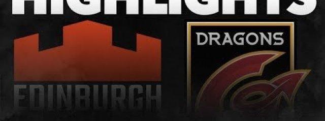 PRO14 Round 6: Edinburgh Rugby v Dragons