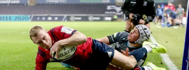 Five points for Munster in win over Ospreys