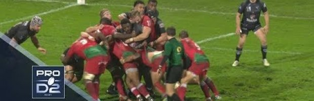 PRO D2 Highlights: Biarritz vs Rouen