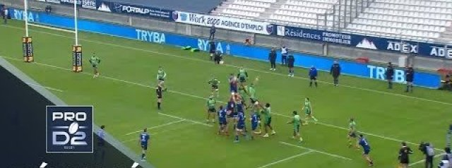 PRO D2 Highlights: Grenoble vs Montauban