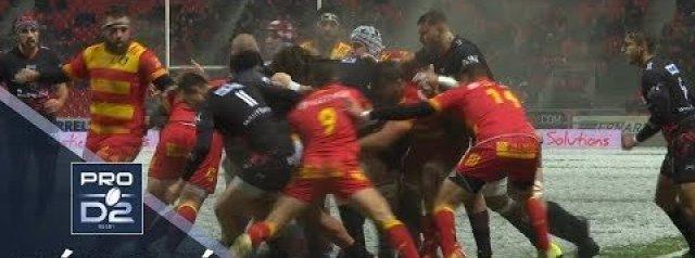PRO D2 Highlights: Oyonnax vs Perpignan