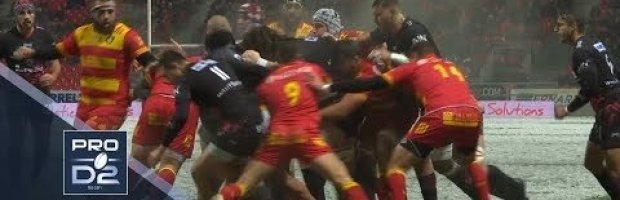 PRO D2 Highlights: Oyonnax vs Perpignan