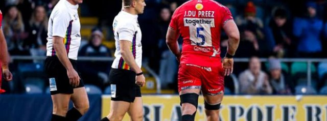 Disciplinary Update: Sale Sharks flanker cops three-week ban