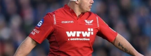 Ospreys draft two props from the Scarlets on loan