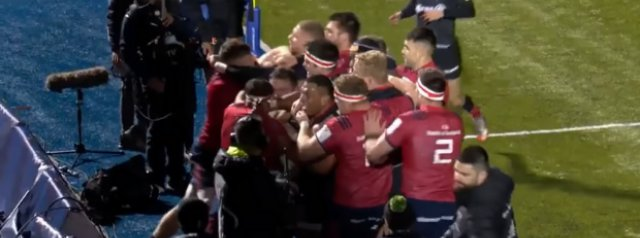 Watch: The brawl between Saracens and Munster and what sparked it all