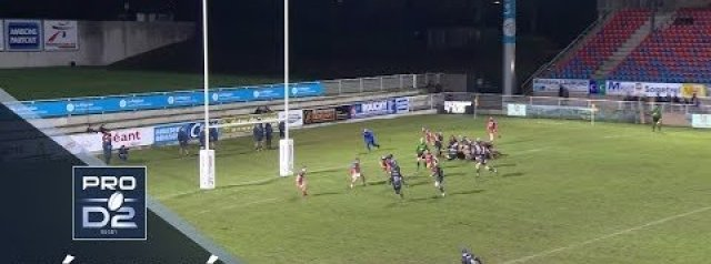 Pro D2 Highlights: Aurillac vs Grenoble
