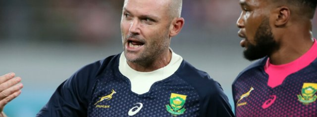 Rassie Erasmus' successor named as SA Rugby confirm the new coaching staff