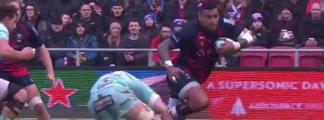 Watch: Nathan Hughes embarrasses Alex Craig with a filthy step