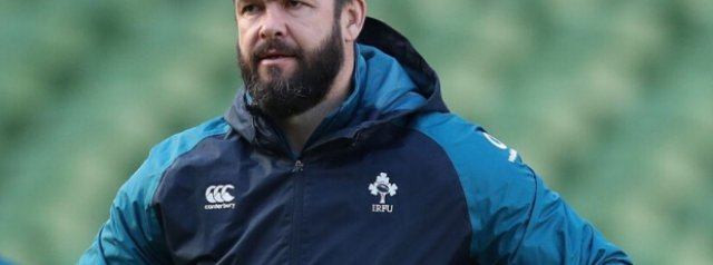 Ireland name side for their opening Six Nations game