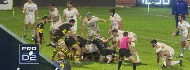 Pro D2 Highlights: Carcassonne vs Mont-de-Marsan