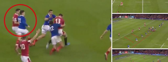 Edwards' defence sticks for 80 minutes as France's replacements step up to shut down Wales in the final two minutes