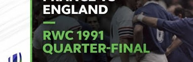 Le Crunch Classic - RWC 1991 Quarter-final France v England (Ful