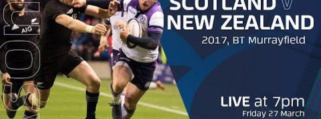 FULL MATCH REPLAY | Scotland V New Zealand | November 2017
