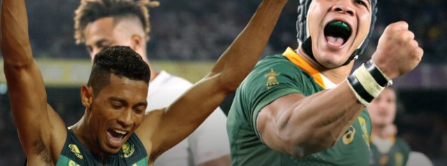 Cheslin Kolbe came through so much – Van Niekerk reflects on Springboks' 'amazing' Rugby World Cup triumph