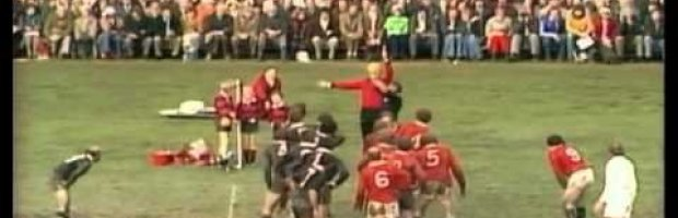 1977 Rugby Union Match: New Zealand All Blacks vs British and Ir