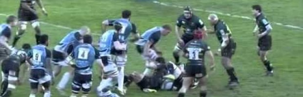2012-13 Heineken Cup: Glasgow vs Northampton.