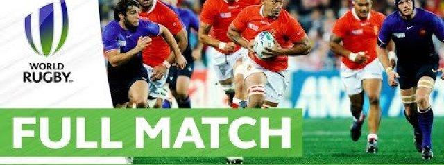 Rugby World Cup: David vs Goliath - RWC 2011 France v Tonga