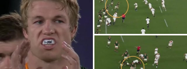 Video shows just how brilliant Pieter-Steph du Toit was in the Rugby World Cup Final