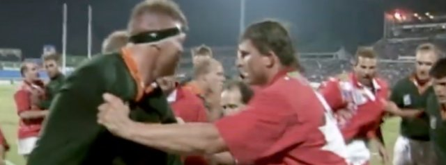 Fights In Rugby - The Battle Of Boet Erasmus