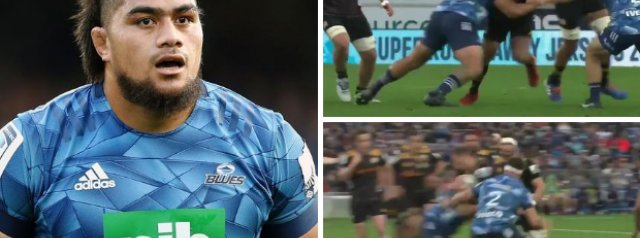WATCH: Ofa Tu'ungafasi's smashing HIT on Aaron Cruden
