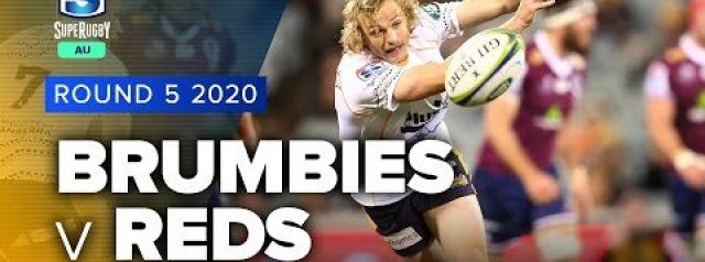 Super Rugby AU Rd 5 Highlights | Brumbies v Reds