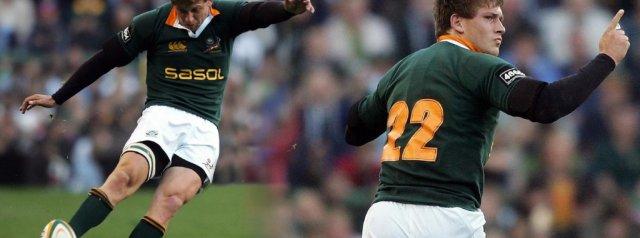Three Enormous Frans Steyn Drop Goals