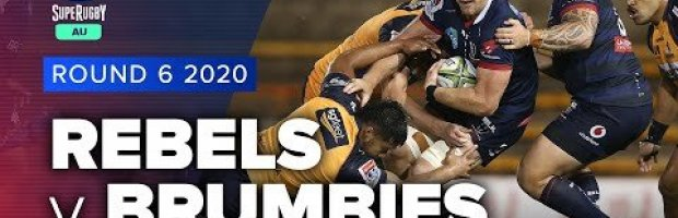 Super Rugby AU | Rebels v Brumbies - Rd 6 Highlights