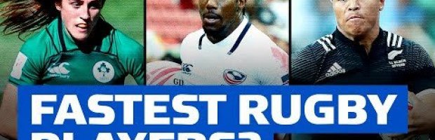Are these the fastest 7s rugby players?