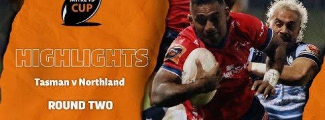 RD 2 HIGHLIGHTS | Tasman v Northland (Mitre 10 Cup 2020)