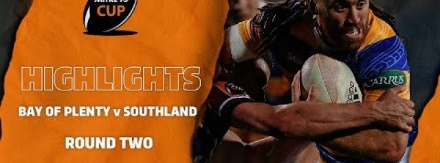 RD 2 HIGHLIGHTS | Bay of Plenty v Southland (Mitre 10 Cup 2020)