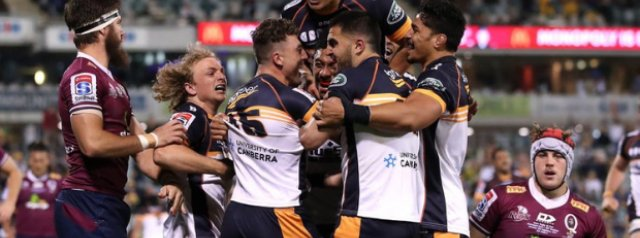 Brumbies beat Reds in Super Rugby AU final